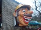Karnevalszug 2012 Wagenbau 17