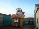 Karnevalszug 2012 Wagenbau 29