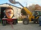 Karnevalszug 2012 Wagenbau 9